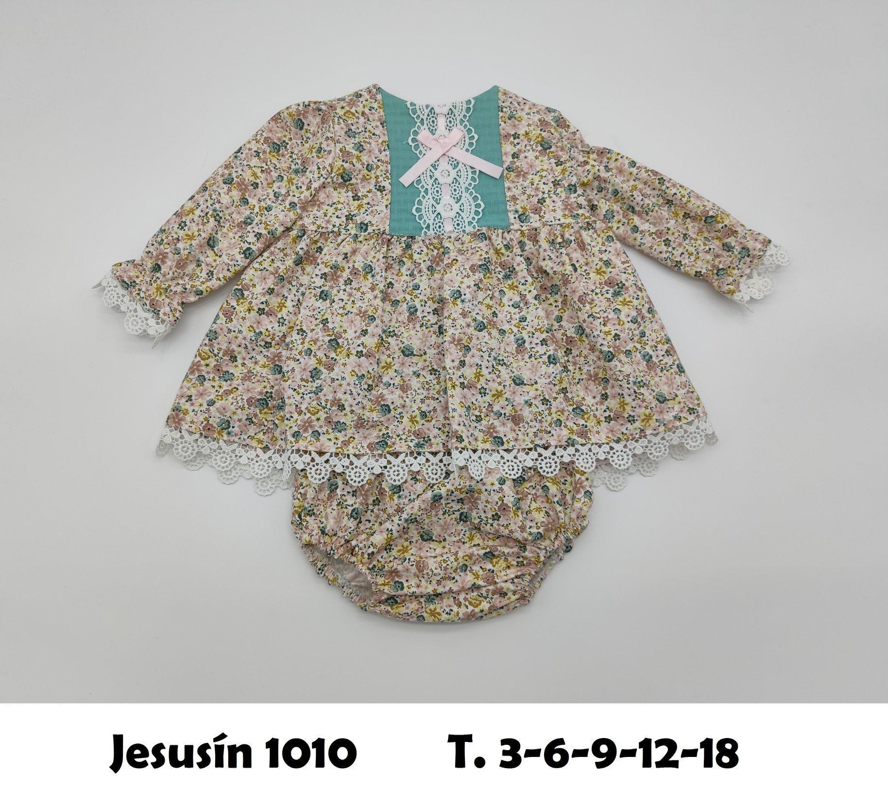 Vestido de niña de flores