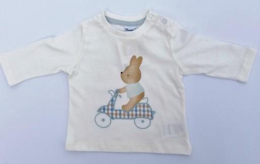 Camiseta conejito en moto