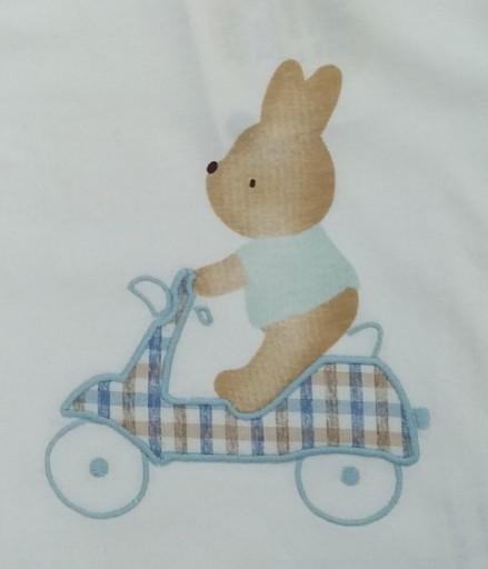 Camiseta conejito en moto [1]