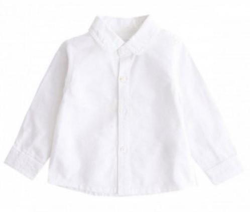 Camisa lisa oxford celeste [2]