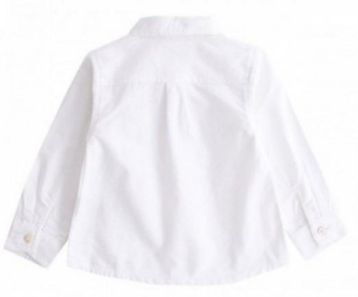 Camisa lisa oxford celeste [3]