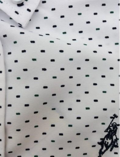 Camisa blanca jaspeada niño [2]