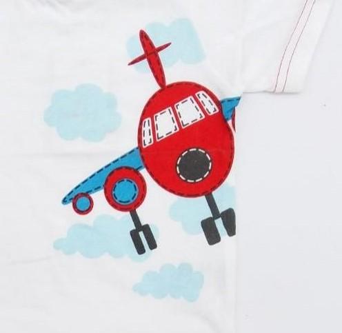 Conjunto niño algodón avión [1]