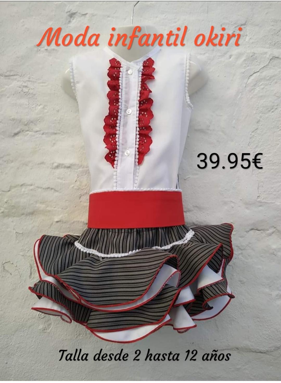 Conjunto de flamenca