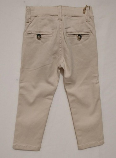 Pantalón chino beige [1]