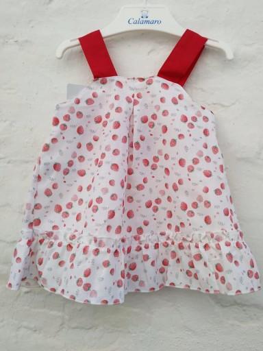 Vestido fresas