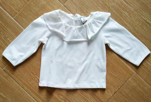 Camiseta niña beige volante