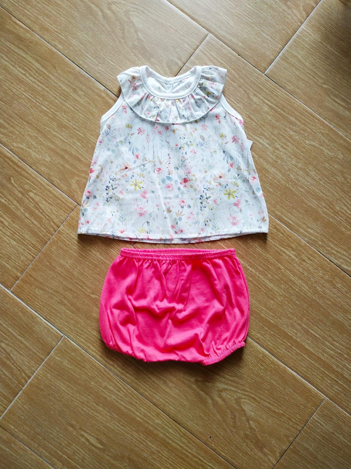 Conjunto camisa bebé