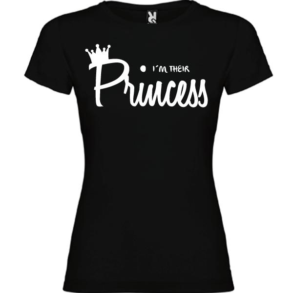 Camiseta I´m Their Princess (NIÑA Y ADULTA)