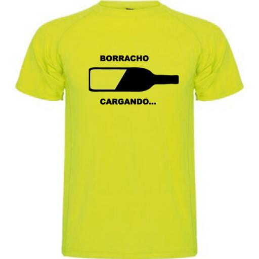 Camiseta Borracho cargando [2]