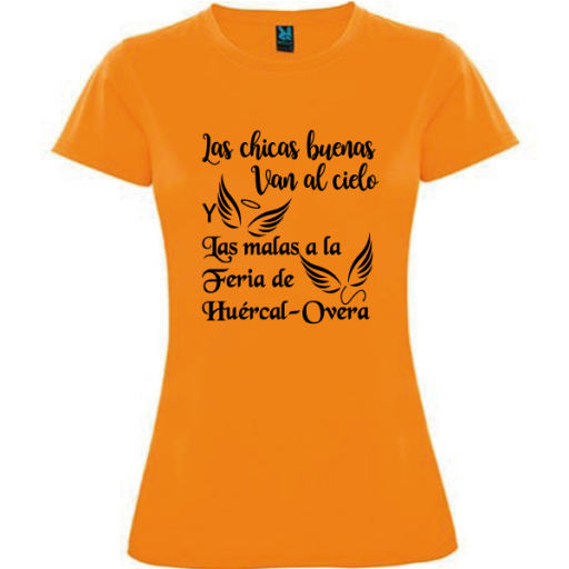 Camiseta Chicas malas [0]