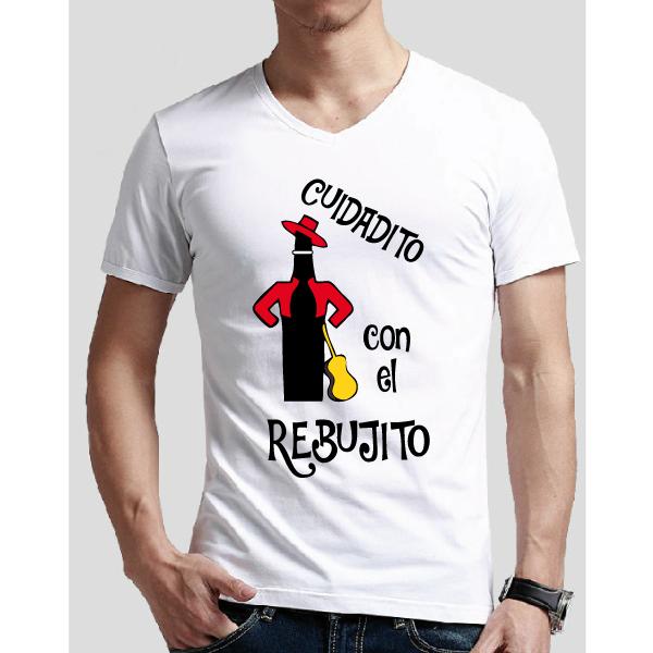 Camiseta Cuidaito con el rebujito