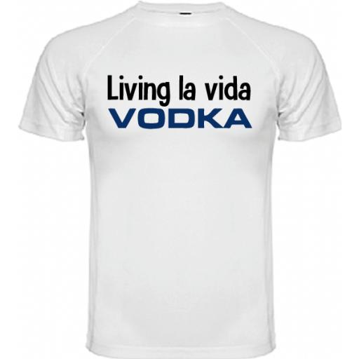 Camiseta Living la vida