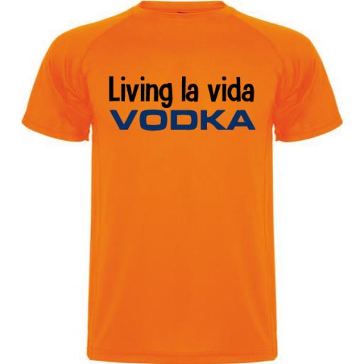 Camiseta Living la vida [1]