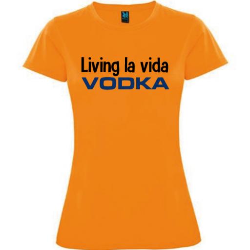 Camiseta Living la vida [2]