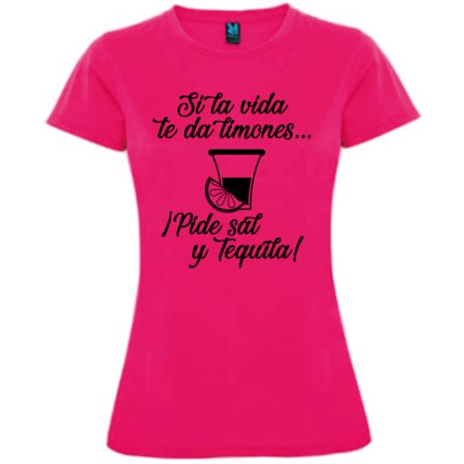 Camiseta Pide sal y tequila [1]