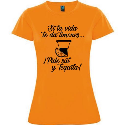 Camiseta Pide sal y tequila [2]