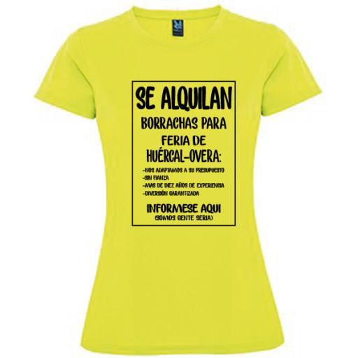 Camiseta Se alquilan borrachas [2]