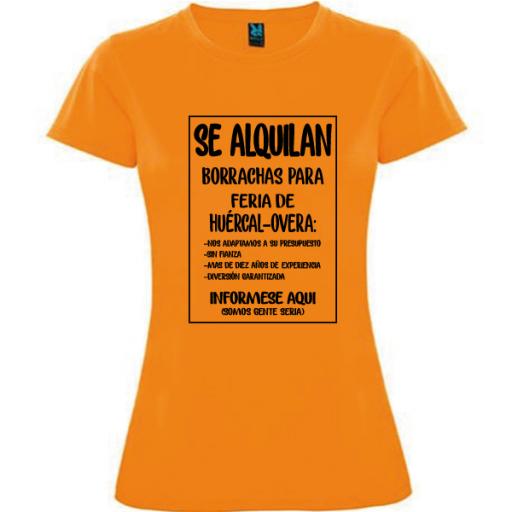 Camiseta Se alquilan borrachas [1]