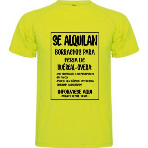 Camiseta Se alquilan borrachos