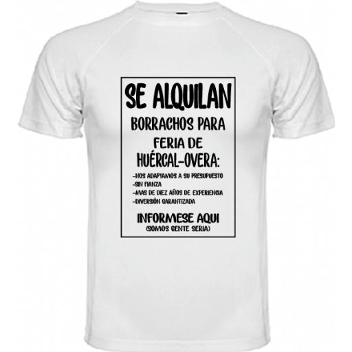 Camiseta Se alquilan borrachos [2]