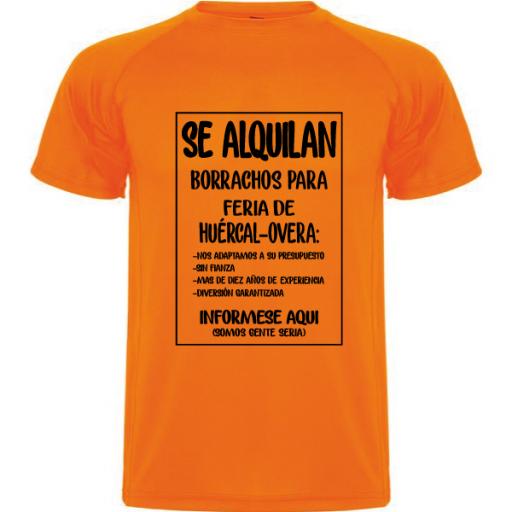 Camiseta Se alquilan borrachos [1]