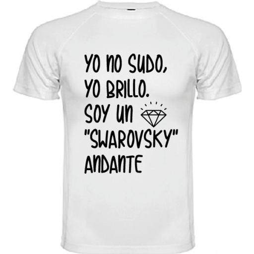Camiseta Soy un swarovsky [1]