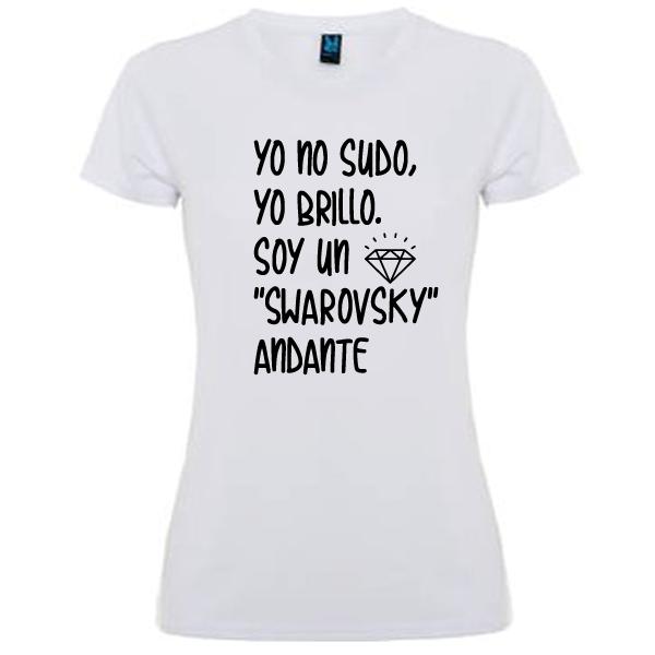 Camiseta Soy un swarovsky