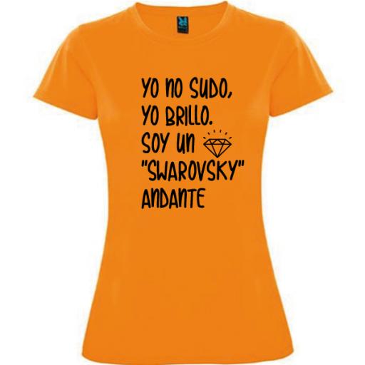 Camiseta Soy un swarovsky [2]
