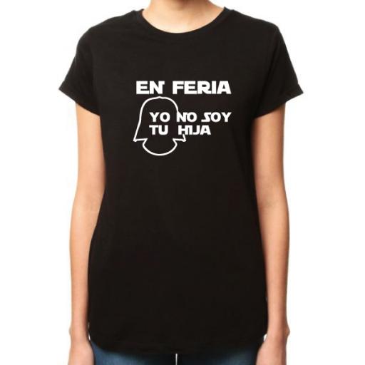Camiseta Yo no soy tu hija [1]