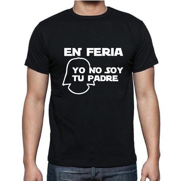 Camiseta Yo no soy tu padre