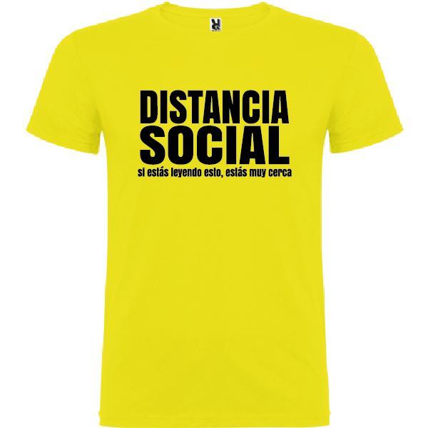 Camiseta Distancia Social