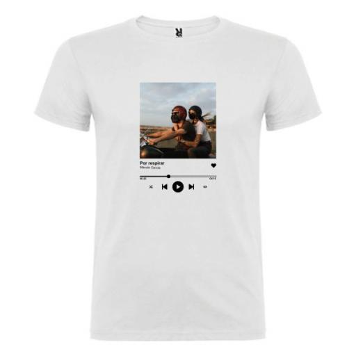 Camiseta Canción Favorita Pareja (Unisex)