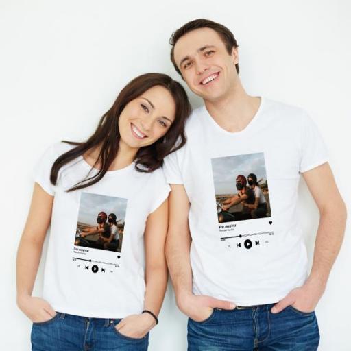 2 Camisetas Canción Favorita Pareja [1]