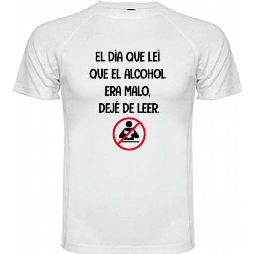 Camiseta Deje de leer [1]