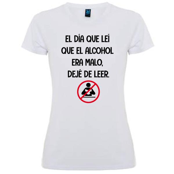 Camiseta Deje de leer