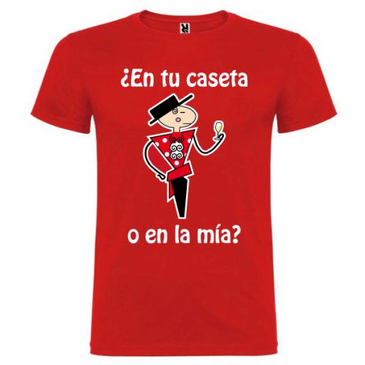 Camiseta En tu caseta [0]