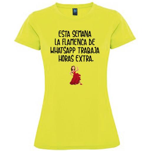 Camiseta Flamenca Whatsapp [1]