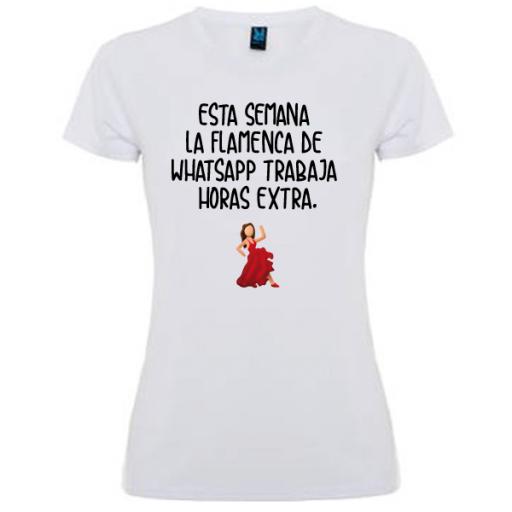 Camiseta Flamenca Whatsapp