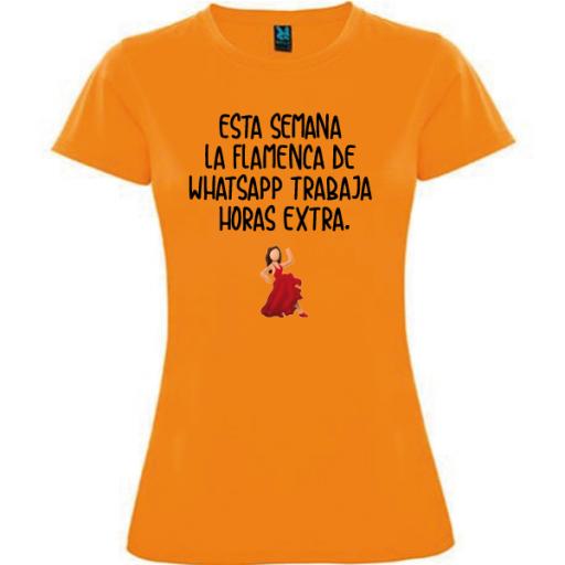 Camiseta Flamenca Whatsapp [2]