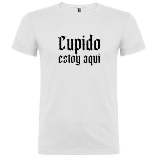 Camiseta Cupido Estoy Aquí (Unisex) [0]