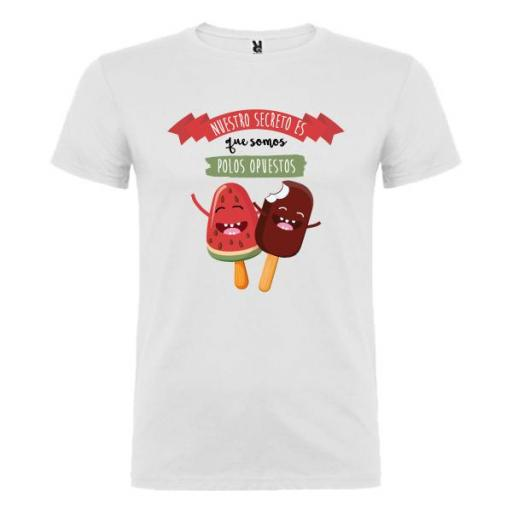 Camiseta Secreto Polos Opuestos (Hombre)