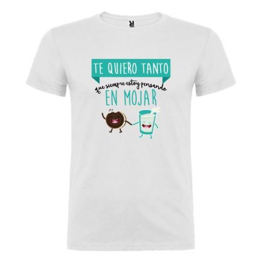 Camiseta Siempre Pensando en Mojar (Hombre)