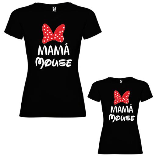 2 Camisetas Mama mouse y mini mouse [1]