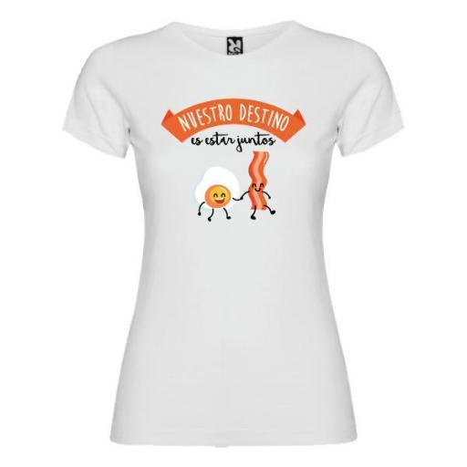 Camiseta Destino Estar Siempre Juntos (Mujer)