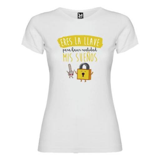 Camiseta Llave para Hacer Realidad mis Sueños (Mujer)