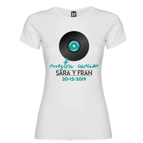 Camiseta Canción Favorita Pareja (Mujer)