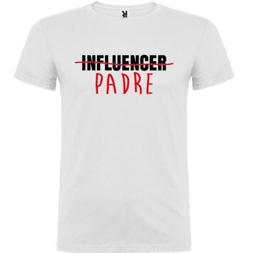 Camiseta Padre Influencer