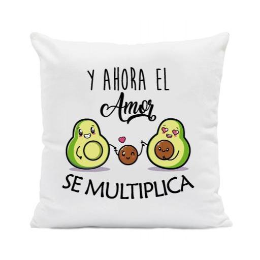 Cojín El Amor se Multiplica