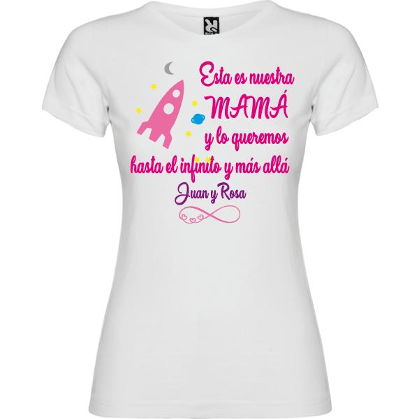 Camiseta Mama Hasta el Infinito